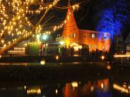 Donauwörth: Der romantische Weihnachtsmarkt im Ried in Donauwörth 2015
