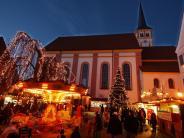 Mindelheim: Mindelheim: Weihnachtsmarkt an der Kirche 2017