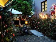 Augsburg: Weihnachtsmarkt in der Alten Silberschmiede Augsburg  2015