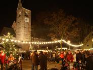 Buchloe: Buchloe: Christkindlmarkt auf dem Kirchparkplatz 2017