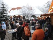 Burgau: Burgau: Schlossweihnacht im Schlosshof 2017