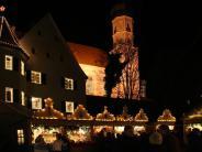 Neuburg an der Kammel: Der Adventsmarkt in Edelstetten 2015