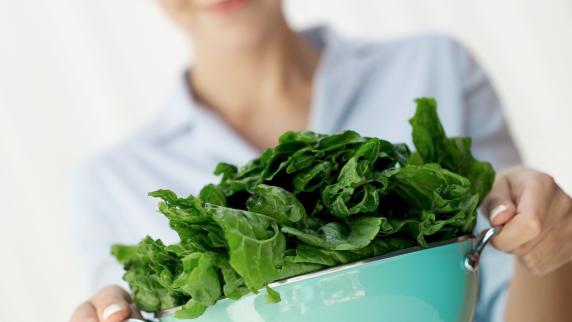mit spinat abnehmen