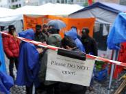 Demonstrationen: Staatsregierung will Lebensbedingung für Asylbewerber verbessern