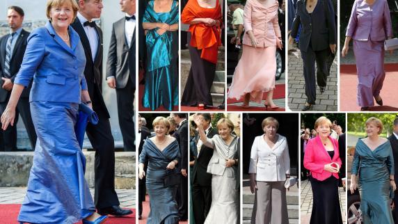 Bayreuth WagnerFestspiele Die farbenfrohen Roben auf