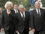 Frankfurt am Main: Marcel Reich Ranicki: Trauerfeier mit zahlreicher Prominenz