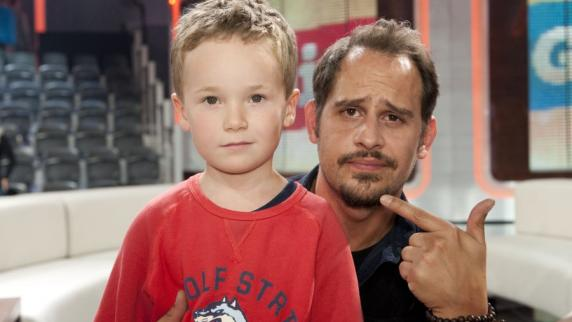 Photo of Moritz Bleibtreu & his  Son  David Bleibtreu