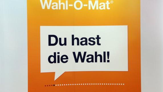 Wahl-O-Mat zur Bundestagswahl 2017 startet am Mittwoch