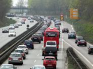 Augsburg: Dritte Spur gegen den Stau auf der B17