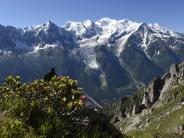 Frankreich: Münchner stürzt am Mont Blanc in den Tod