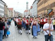 Augsburg: Beim Plärrerumzug werden heute Trams und Busse umgeleitet