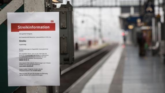 Deutsche Bahn: Bahnkunden drohen harte Zeiten: Lokführer stimmen für neue Streiks