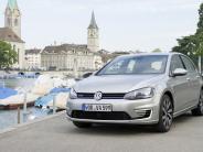 Testfahrt Golf GTE: Der Golf, der an der Steckdose tankt