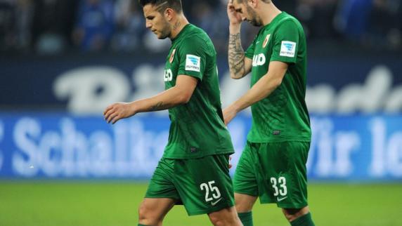 """FC Augsburg: Frust beim FCA: """"Schalke hat gewonnen und weiß nicht warum"""""""