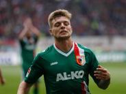 FC Augsburg: Auch Esswein hat Ärger: Er soll Security-Mann die Nase gebrochen haben