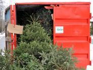 Weihnachtsbäume: Christbaum entsorgen in Augsburg und Umgebung: So geht's