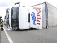 """Aichach-Friedberg: Orkan """"Niklas"""": Straßensperren und Unfälle im Landkreis"""
