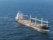 """Havarie vor Helgoland: Frachter """"Purple Beach"""" droht in der Nordsee zu explodieren"""
