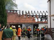 Landkreis Eichstätt: Brennende Garage in Adelschlag: 50.000 Euro Schaden
