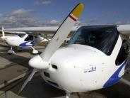 Landkreis München: Zwei Schwerverletzte nach Notlandung mit Leichtflugzeug