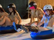 : Käserollen oder Nacktrodeln - skurrile Wettbewerbe weltweit