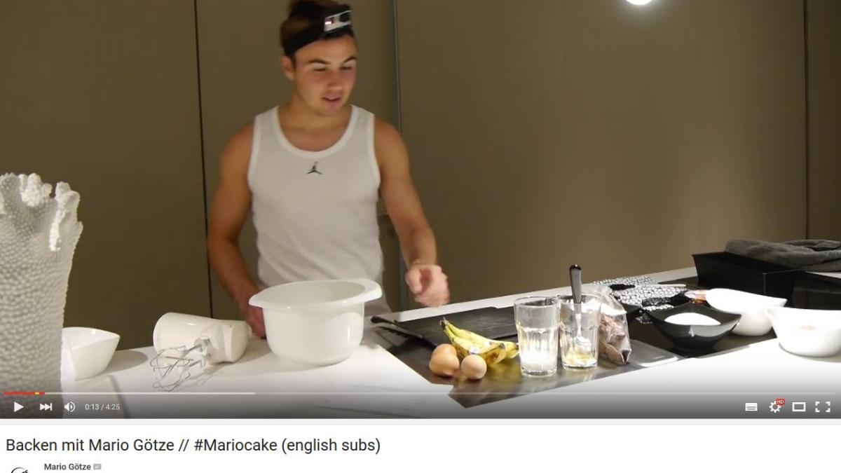 Youtube video kuchen statt tore backen mit mario g tze - Youtube kuchen ...