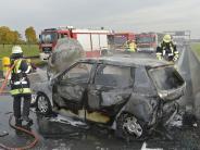 Höhe Eschenrieder Spange: Unfall auf A99 fordert mehrere Verletzte