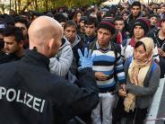 Passau: In der Nacht kamen über 2000 Flüchtlinge an Bayerns Grenze