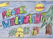 Aktion unserer Zeitung: Diese schönen Weihnachtskarten haben Kinder gemalt und gebastelt