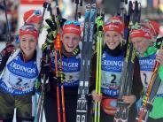 Wintermärchen in Hochfilzen: Sensationeller Weltcup-Auftakt: Die deutschen Biathleten sind zurück