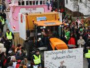 Bildergalerie: Faschingsumzug in Aichach-Griesbeckerzell