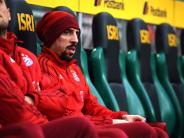 FC Bayern: Franck Ribéry trainiert wieder mit der Mannschaft