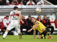 DFB-Pokal: Dortmund schießt Stuttgart aus dem Pokal