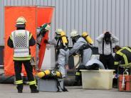 Kaufbeuren: Großeinsatz der Feuerwehr nach Chemieunfall in Papierfabrik
