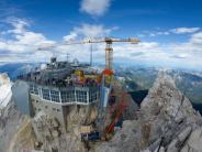 Garmisch-Partenkirchen: Bauarbeiten für neue Seilbahn auf die Zugspitze kommen voran