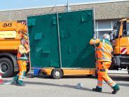 Königsbrunn: Gaffer behindern Rettung - Polizei: Widerliches Verhalten