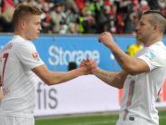 FC Augsburg: Stürmer Alfred Finnbogason findet in Augsburg alles perfekt