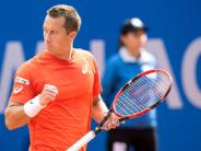 ATP-Tennisturnier: Philipp Kohlschreiber ist in München stark in Form
