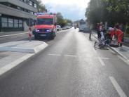 Krumbach: Bub von Bus erfasst: 100 Schaulustige erschweren Rettung