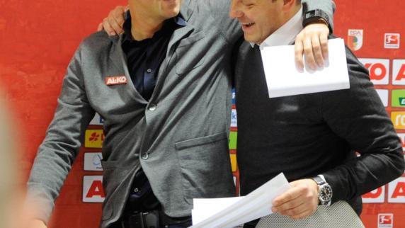 FC Augsburg: Breitenreiter und Weinzierl blenden Brisanz beim Trainerduell aus