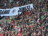 FC Augsburg: FCA-Spiele: Gut besucht, aber nur selten ausverkauft
