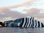 Italien: Was von der Costa Concordia bleibt