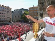 München: Die Double-Party der Bayern in Bildern