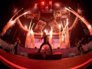 Rockavaria 2016: Iron Maiden lässt sich auf dem Rockavaria vom Regen nicht bremsen