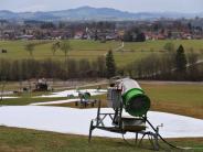 Skigebiete: Streit über Schneekanonen spitzt sich zu