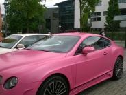 Prozess in Augsburg: Prinz Protz fährt im rosaroten Bentley vor