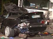 Petershagen: Horrorunfall in NRW: Vier Männer sterben in einem Cabrio
