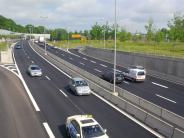 Augsburg: B17-Baustelle beendet: Verkehr fließt wieder vierspurig