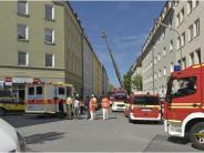 München: Mit Zigarette eingeschlafen: 26-Jähriger stirbt auf brennender Matratze