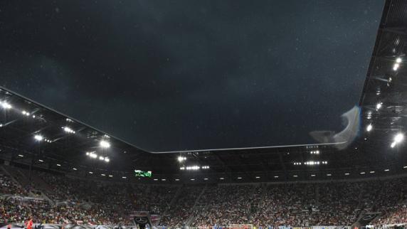 Fußball-Länderspiel: Wie die Fans das verhagelte Testspiel in Augsburg erlebten